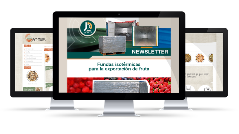 Disseny de butlletins/newsletters/mailings