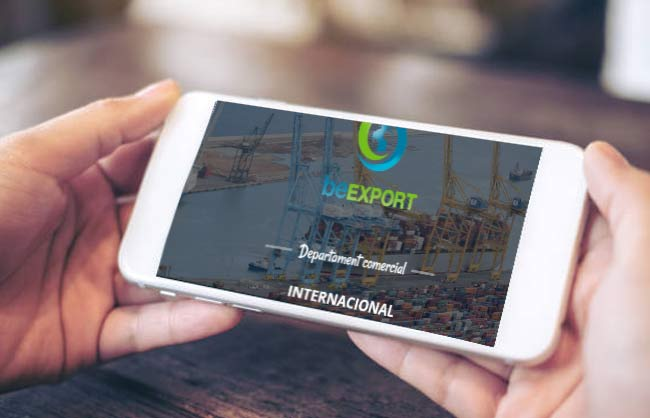 Landing page per Be Export