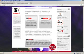 Página web G2 Software